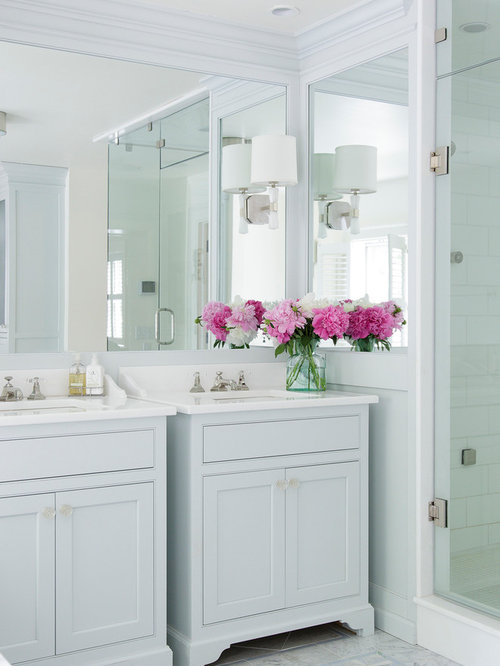 Mirror-Mounted Sconces Ideas, Pictures, Remodel and Decor