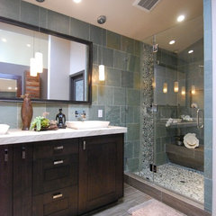 contemporary bathroom by Grace Blu Designs, Inc.