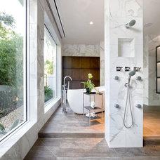 Contemporary Bathroom by Godfrey Design Consultants Inc