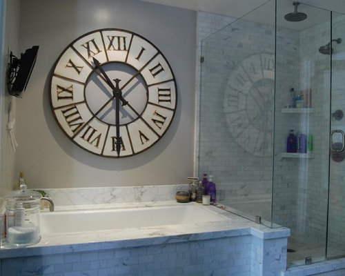 SaveEmail. Bathroom Clock Design Ideas   Remodel Pictures   Houzz
