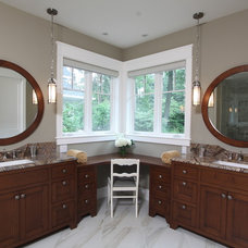 Traditional Bathroom by Falcon Custom Homes