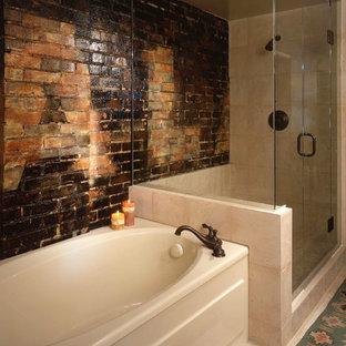 Example of an urban bathroom design in Denver