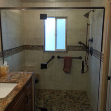 Traditional Bathroom by World Contracting LLC
