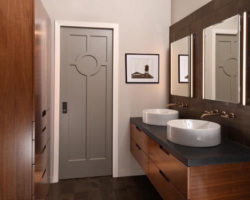 Des Moines IA Brown Camp Lofts Remodel Transitional - Bathroom remodel west des moines