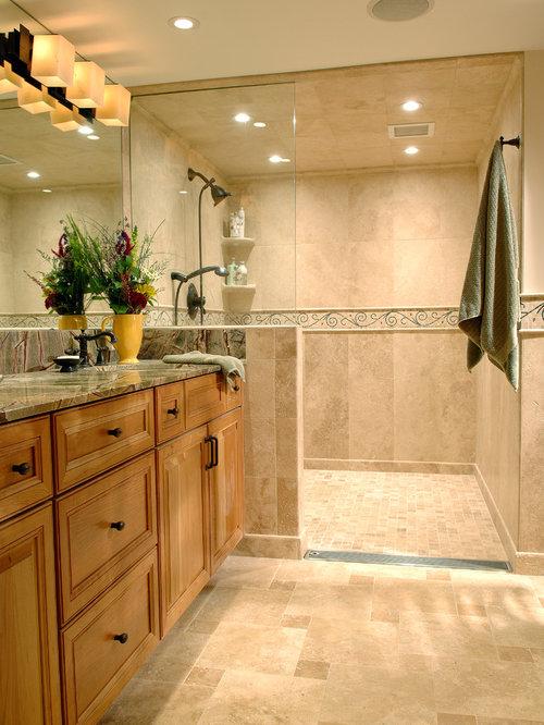 Bathroom Design Ideas Renovations Photos With Travertine Floors