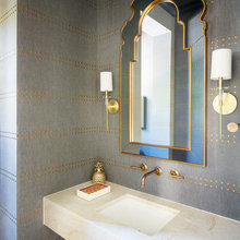Powder Rooms Patterns: 10 Delightful Dots