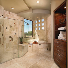 Southwestern Bathroom by Soloway Designs Inc   Architecture + Interiors