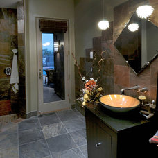 Southwestern Bathroom by Soloway Designs Inc | Architecture + Interiors