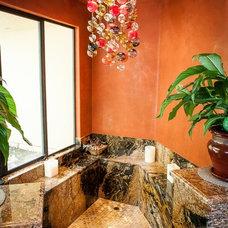 Mediterranean Bathroom by Stone Pros Marble and Granite, Inc.