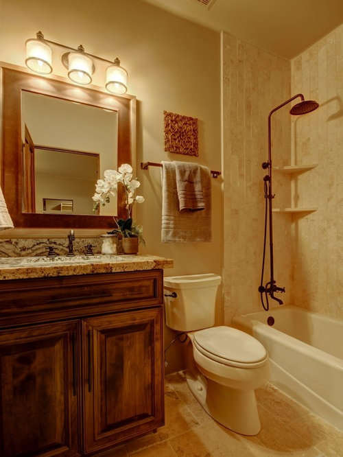 Southwestern Bath Design Ideas Pictures Remodel Decor With An Alcove Tub