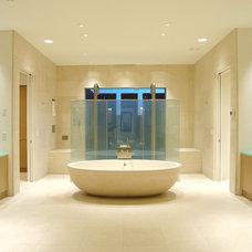 Contemporary Bathroom by Facings of America, Inc