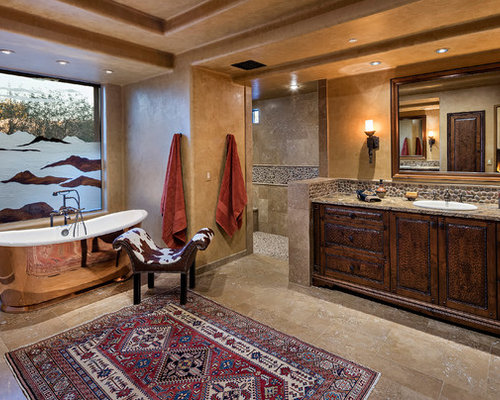Southwestern Phoenix Bathroom Design Ideas Remodels Photos