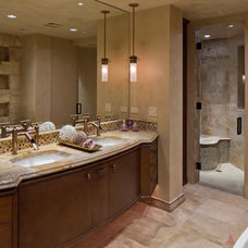 Transitional Bathroom by Esther Boivin Interiors