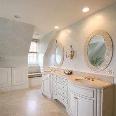 Transitional Bathroom by BOWA