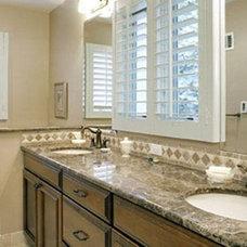 Contemporary Bathroom by Design Connection, Inc