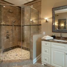 Traditional Bathroom by WPL Interior Design
