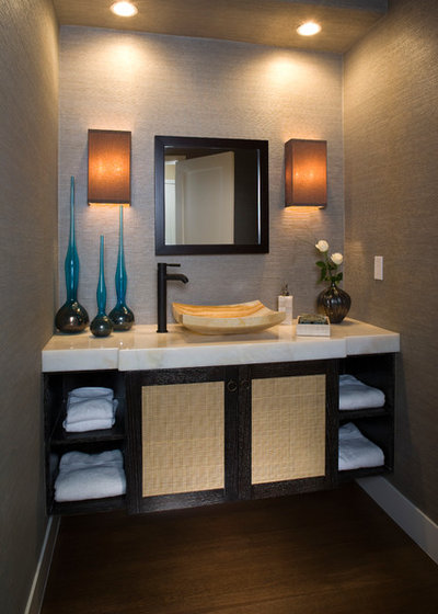 Contemporary Bathroom by The Art of Room Design