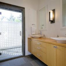 Contemporary Bathroom by Design Savvy