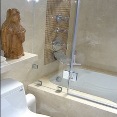 asian bathroom by Design Solutions
