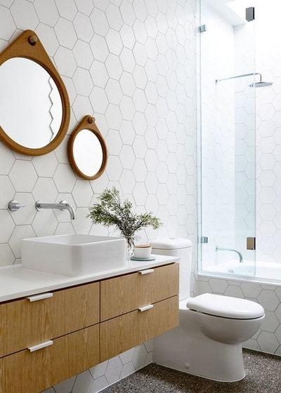 Contemporaneo Stanza da Bagno by VK Bathrooms
