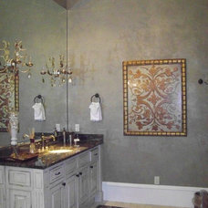 Traditional Bathroom by Designer Faux Finishes