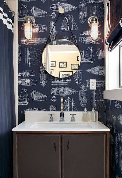 Contemporary Bathroom by Artistic Designs for Living, Tineke Triggs