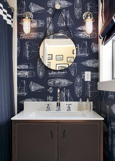 コンテンポラリー 浴室 by Artistic Designs for Living, Tineke Triggs