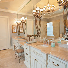 Traditional Bathroom by Pettis Builders