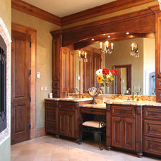 Traditional Bathroom by Walker Woodworking