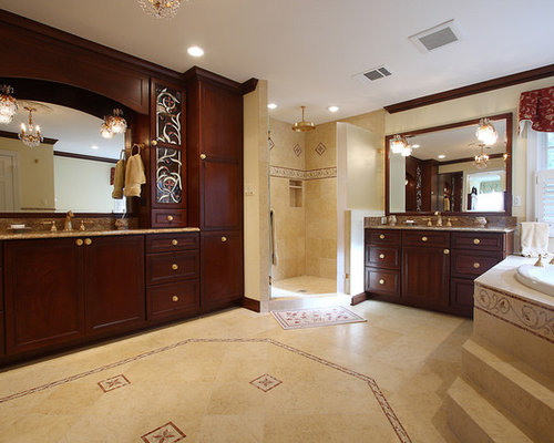 Open Shower Stall Home Design Ideas, Pictures, Remodel and Decor