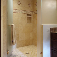 traditional bathroom by NVS Remodeling & Design
