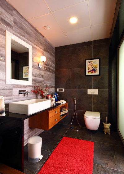 Contemporary Bathroom by Savio & Rupa Interior Concepts (Bangalore)