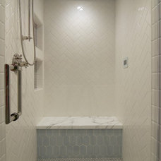 Transitional Bathroom by Anthology Interiors