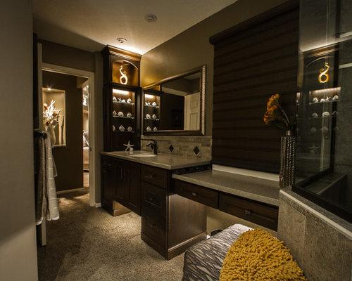 Transitional Omaha Bathroom Design Ideas Remodels Photos