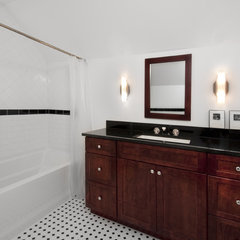 traditional bathroom by DESIGNfirst Builders