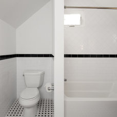 Traditional Bathroom by Design First  Builders