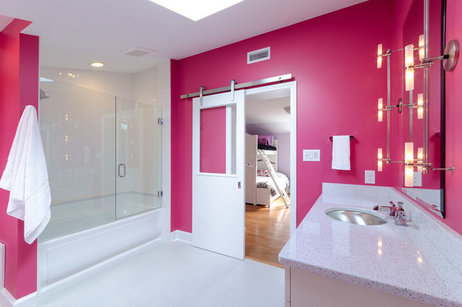 Contemporary Bathroom by DesignLine Home Transformations
