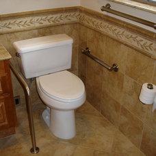 Traditional Bathroom by Designs Anew Houston LLC