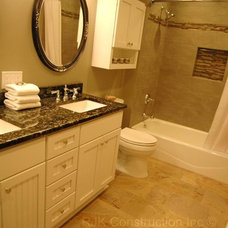 traditional bathroom by Designs by SKill, LLC.