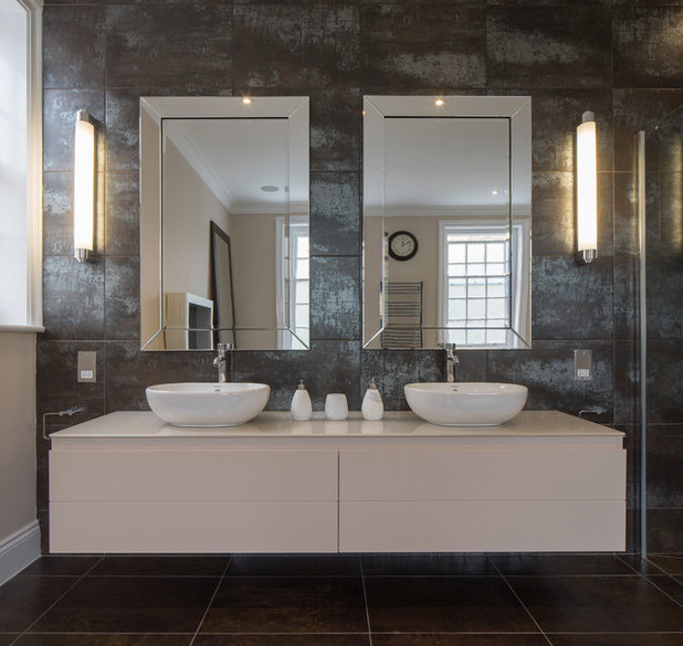 Contemporary Bathroom by Ligneous Kitchens