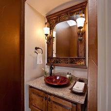 Rustic Bathroom by Authentic Custom Homes
