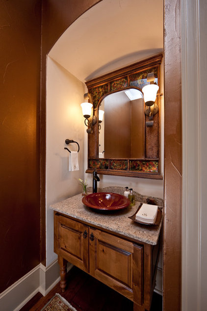 Rustic Bathroom by Authentic Custom Homes