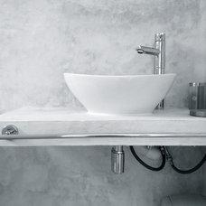 Contemporary Bathroom by Anna Maria Garreffa- HOME THERAPY DESIGN