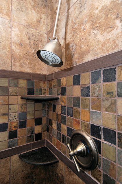 Asian Bathroom by Zenteriors by Camian Larson