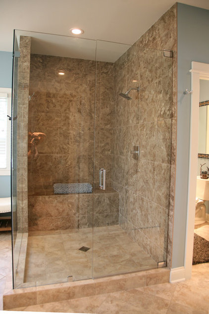 traditional bathroom by interior changes home design
