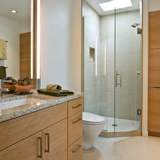 Contemporary Bathroom by Buckner Construction Inc.