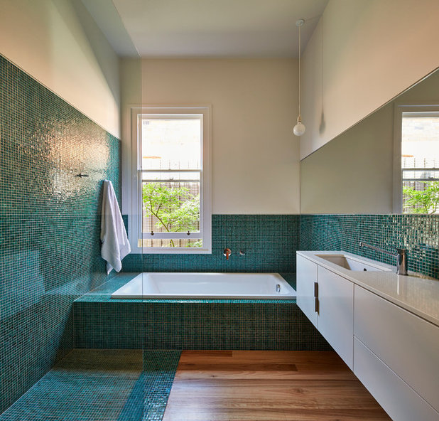 Contemporary Bathroom by Simon Whibley Architecture
