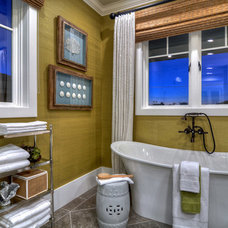 Eclectic Bathroom by Details a Design Firm