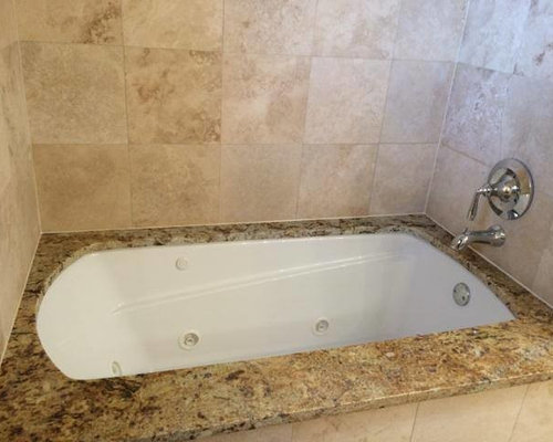 Travertine Tub Surround Houzz