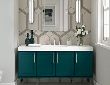 Diamond Cabinets: On-Trend Bathroom Vanity